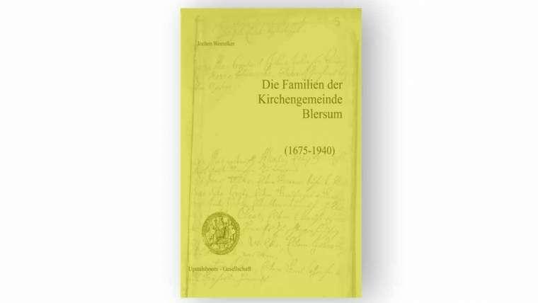 Das Ortssippenbuch Blersum kann bestellt werden!
